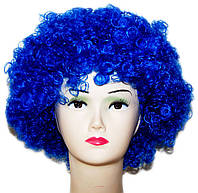 Парик Клоун-растрепа (синий) 220216-116