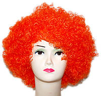 Парик Клоун-растрепа (оранжевый) 220216-117