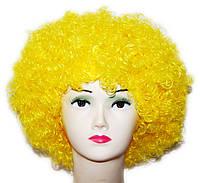 Парик Клоун-растрепа (желтый) 220216-118