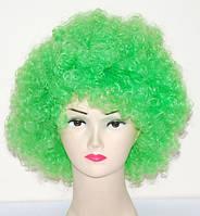 Парик Клоун-растрепа (зелёный) 220216-120