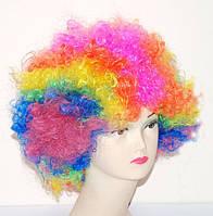 Парик Клоун-растрепа (радуга 3-5 цветов) 220216-121