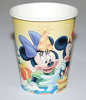 Стаканы праздничные Микки Маус и друзья 190 мл 6 шт 250216-596