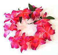 Венок на голову гавайский (лиловый) 010316-111