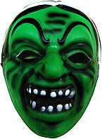 Маска Баба Яга зеленая (пена) 240216-004