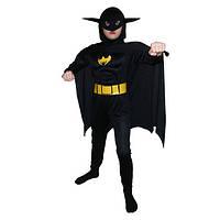 Костюм детский Бетмен объемный M 040316-480
