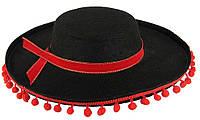 Шляпа Сомбреро Испания (Детская) 050416-001