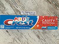 Лучшая паста для деток т 3-х лет Crest Kids Cavity Protection,76.5 грамм