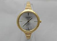 Часы женские Michael Kors slim, цвет золото, циферблат серебристый