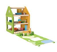 """Деревянная игрушка """"Игровой домик"""""""