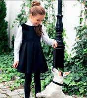 Школьное платье для девочки Sly 207A/S/16, цвет черный р.146