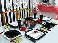 Lum.Authentic Black&White.Сервіз столовий-19пр