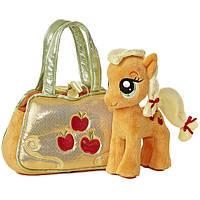 Пони в сумке Эпплджек Aurora World My Little Pony Applejack Cutie Mark Carrier