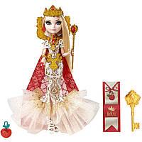 Коллекционная кукла с ресницами Эппл Вайт Ever After High Royally Ever After Apple White Оригинал из США!
