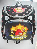 Детский школьный рюкзак ранец Angry Birds портфель недорого плотный текстиль оптом 7 км Г1575/2458