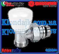 Giacomini ручной радиаторный кран угловой 1/2Х18