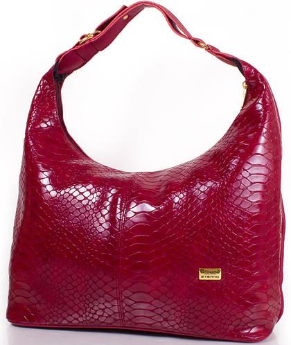 Эффектная женская сумка из качественного кожезаменителя ETERNO (ЭТЕРНО) ET15-20, бордовый