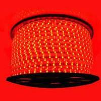 Светодиодная лента 5050smd 220V IP68 красная 60 led