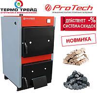 Твердотопливный котел ProTech ТТ - 18 ЭКО Line, 4 мм с БЕСПЛАТНОЙ ДОСТАВКОЙ