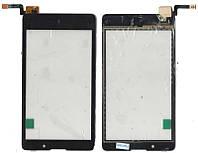Сенсор Nokia XL чёрный оригинал