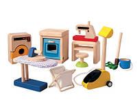 """Деревянная игрушка """"Аксессуары для дома"""", Plan Toys"""