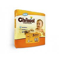 Подгузники детские Chikool 4 L (10-17 кг) 82 шт