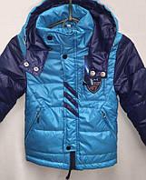Демисезонная курточка для мальчика с капюшоном  4800