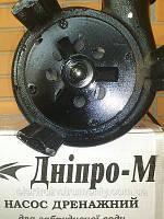Насос Днипро М НДЧ-2НП 2,6 kw чугун с измельчителем с поплавком