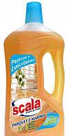 SCALA PARQUET E MARMO 1 LITRO / Моющее средство для деликатных поверхностей (паркет, мрамор и др.). 1л