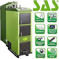 Твердотопливный котел с автоматической подачей SAS AGRO ECO