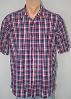 Мужская рубашка в клетку р.M,L