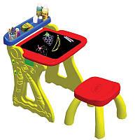 Детская парта со стульчиком и настольным мольбертом Crayola 5013