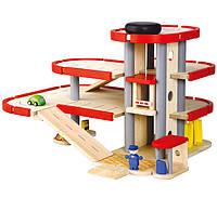 """Деревянная игрушка """"Паркинг"""", Plan Toys"""