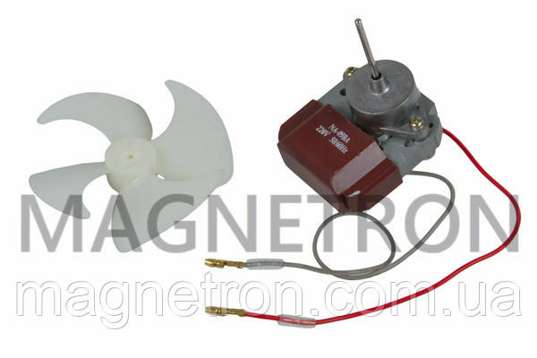 Двигатель вентилятора c крыльчаткой для холодильника NA-09BA, фото 2