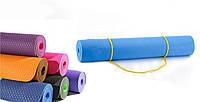 Коврик (каримат) для фитнеса\ йога мат 6 мл. ТРЕ Eco