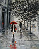 «Парижанка»  картина маслом
