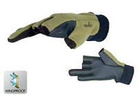 Перчатки флис - непреновые ветрозащитные NORFIN POWER 703055