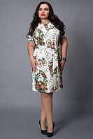 Женское платье из качественного трикотажа