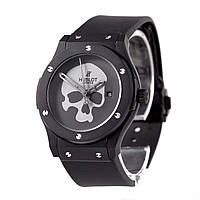 Механические часы HUBLOT - Geneve  с автозаводом, каучуковый черный ремешок, сапфировое стекло, AAA