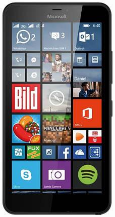 Мобильный телефон Microsoft Lumia 640 DS Black, фото 2