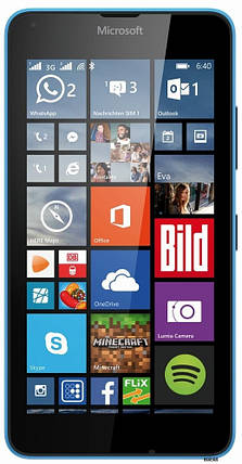 Мобильный телефон Microsoft Lumia 640 DS Cyan, фото 2