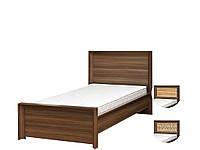 Кровать 1-сп Палермо дуб борас (Світ Меблів TM)