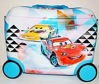 """Детский чемодан-каталка на 4-х колесах """"Тачки"""" 42х20х30 см"""