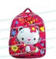 Рюкзак школьный 3D Kitty с ортопедической спинкой + сумка для девочки пр-во Турция