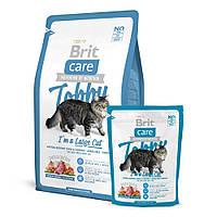Brit Care Cat Tobby I am a Large Cat корм для взрослых кошек крупных пород, 2кг