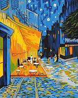 Раскраска по номерам Терасса Ван Гог Винсент (RS-N000136) 45х35 см
