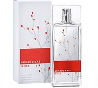 Armand Basi in Red EDT 100 ml Парфюмированная вода (оригинал подлинник  Испания)