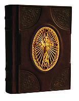 Православный молитвослов с крестом, филигранью (золото) и  гранатами