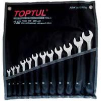 Набор ключей комбинированных TOPTUL GPAX1202 12 шт. 6-22