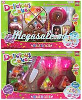 """Набор игрушечных продуктов и посуды """"Вкусные кексы"""": 2 вида"""