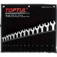 Набор ключей комбинированных TOPTUL GPAX1402  14 шт. 8-24